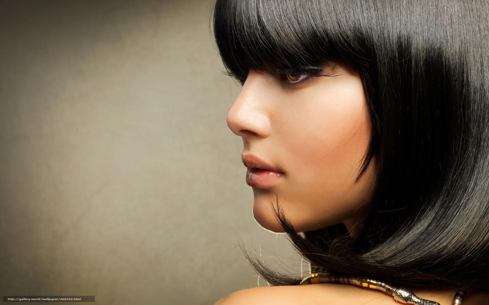 Стрижки девушек брюнеток лицо 6 фотография