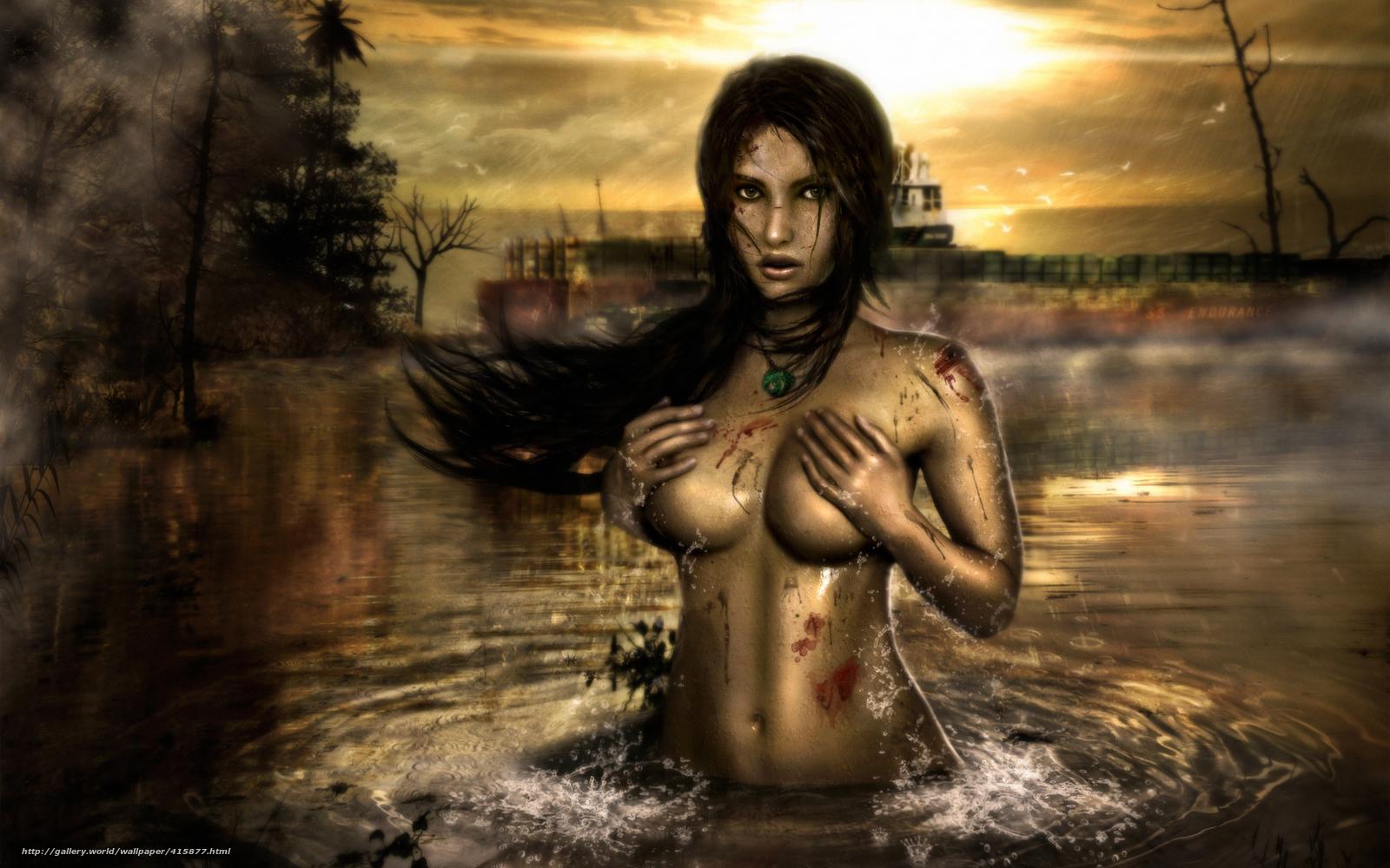 красивые рисунки голых женщин-вш1