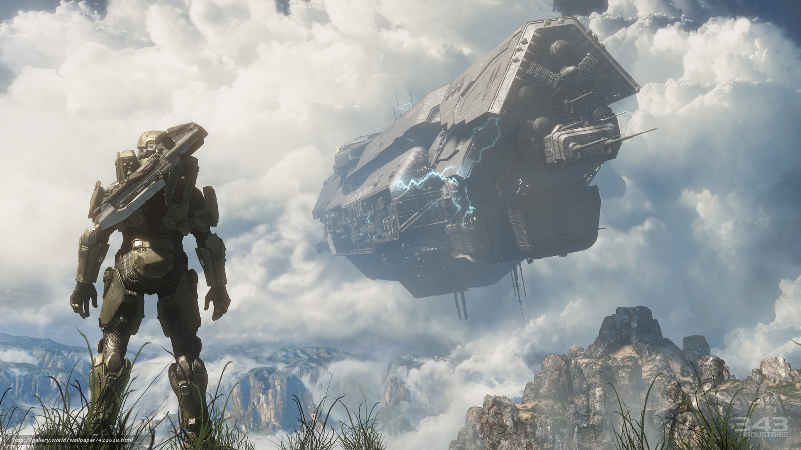 Game Ship Halo 4