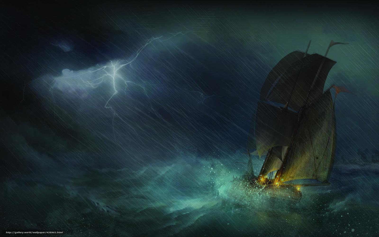 что делать если попал в шторм на лодке