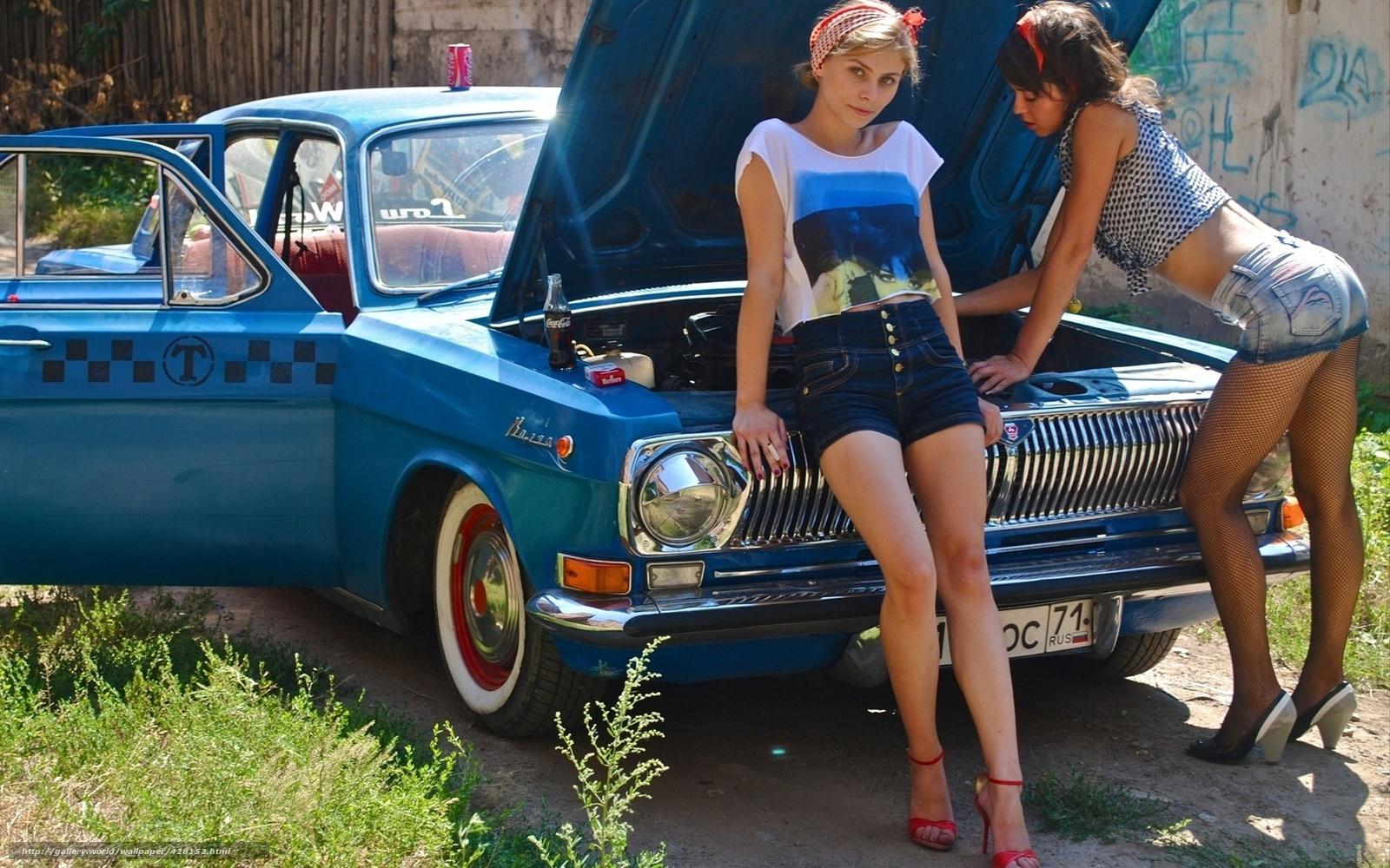 Фото девушек в машине 21 15 фотография