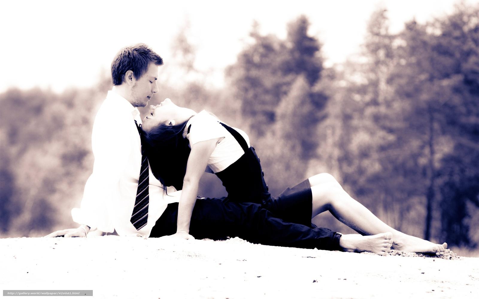 Белый парень и чёрная девушка фото