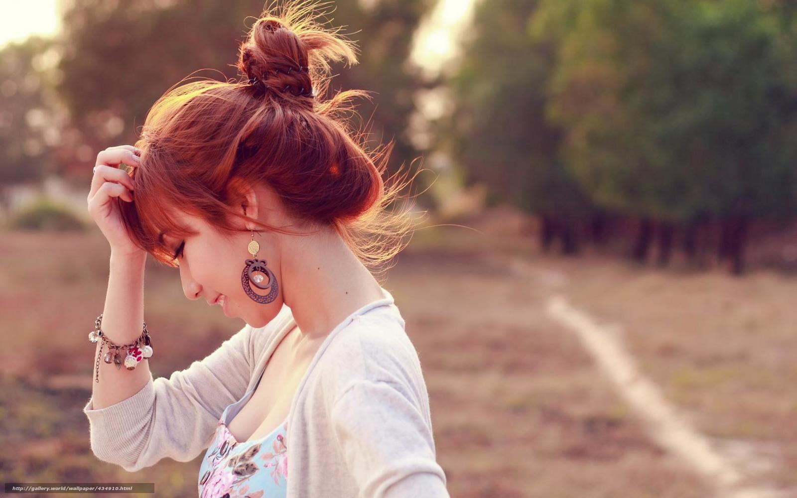 Фотосессии рыжих азиаток в очках девушек 8 фотография