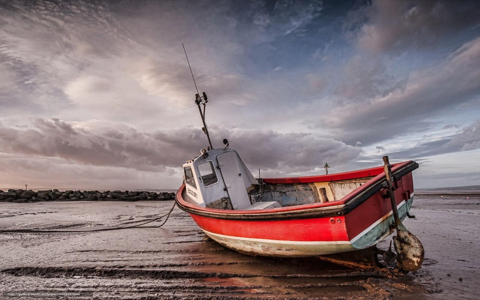 лодки море пейзаж