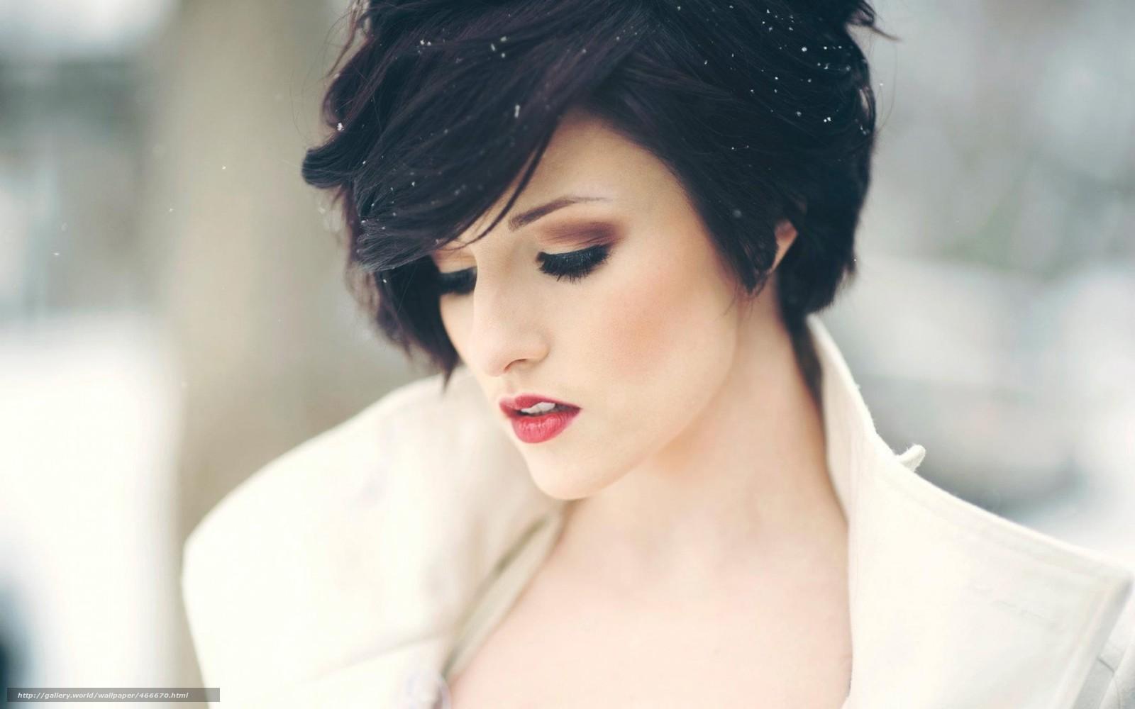 Фото красивых девушек с короткой причёской
