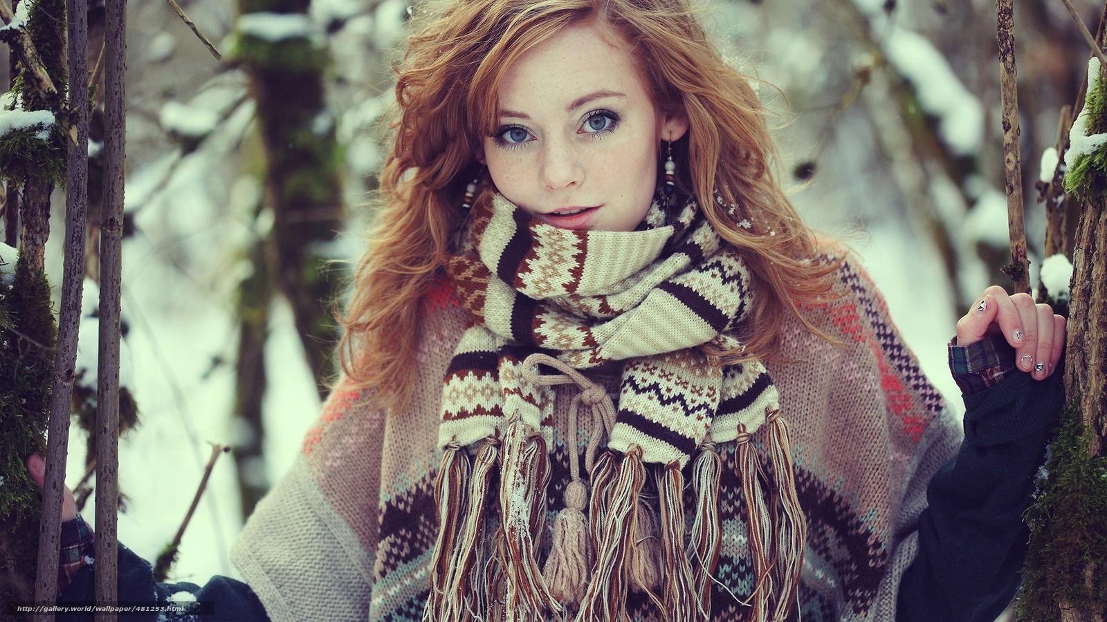 Рыжая русская девушка 19 фотография