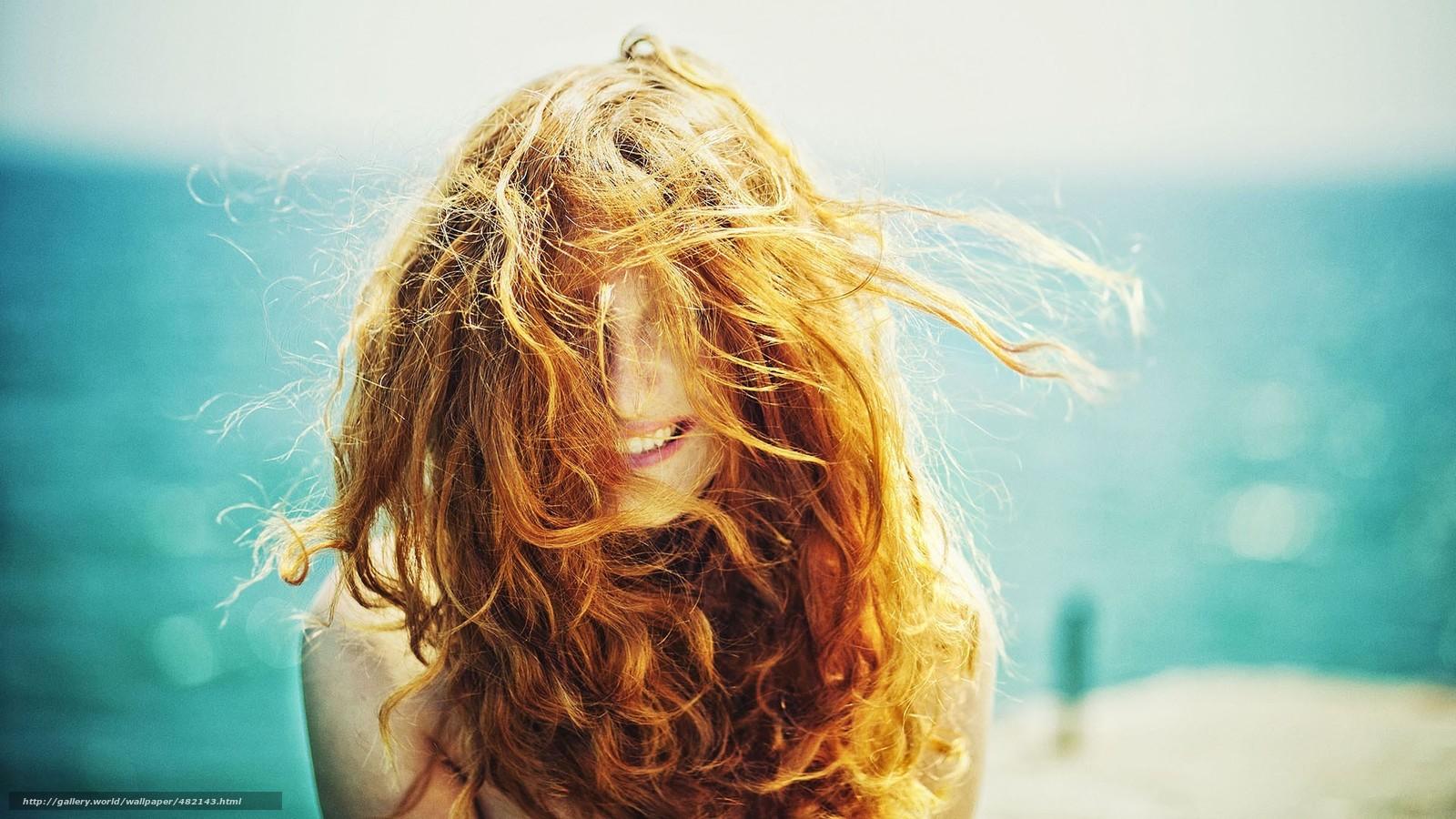 Фотографии рыжих девушек у моря 19 фотография