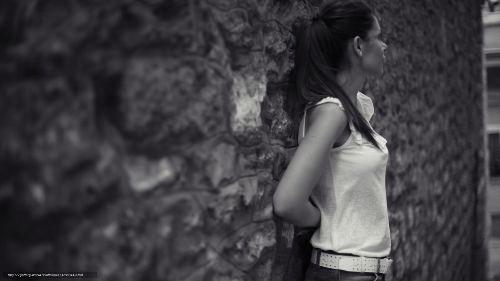 Фотографии девушки черно белые 1 фотография