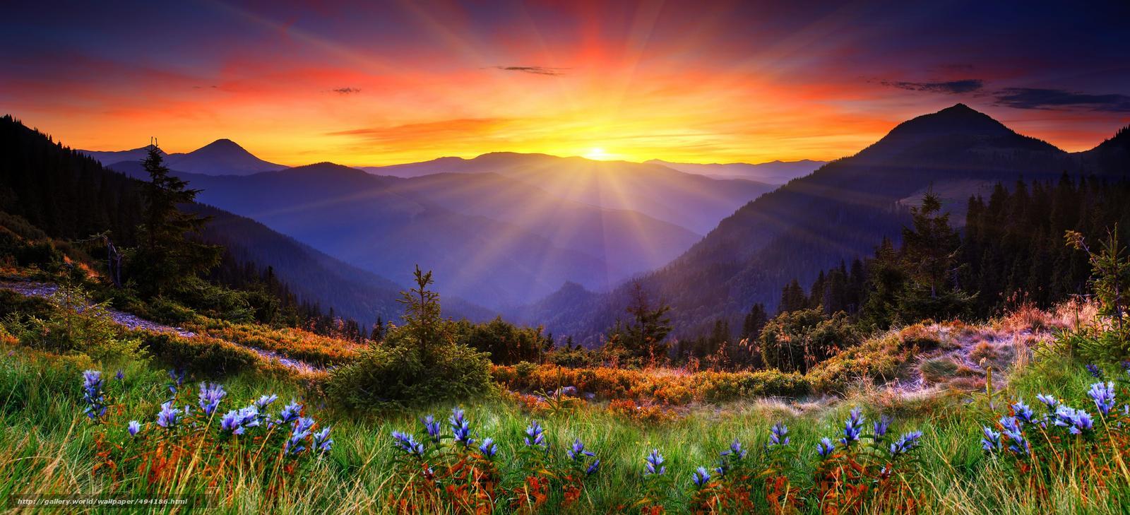 Красивые закаты (13 фото)