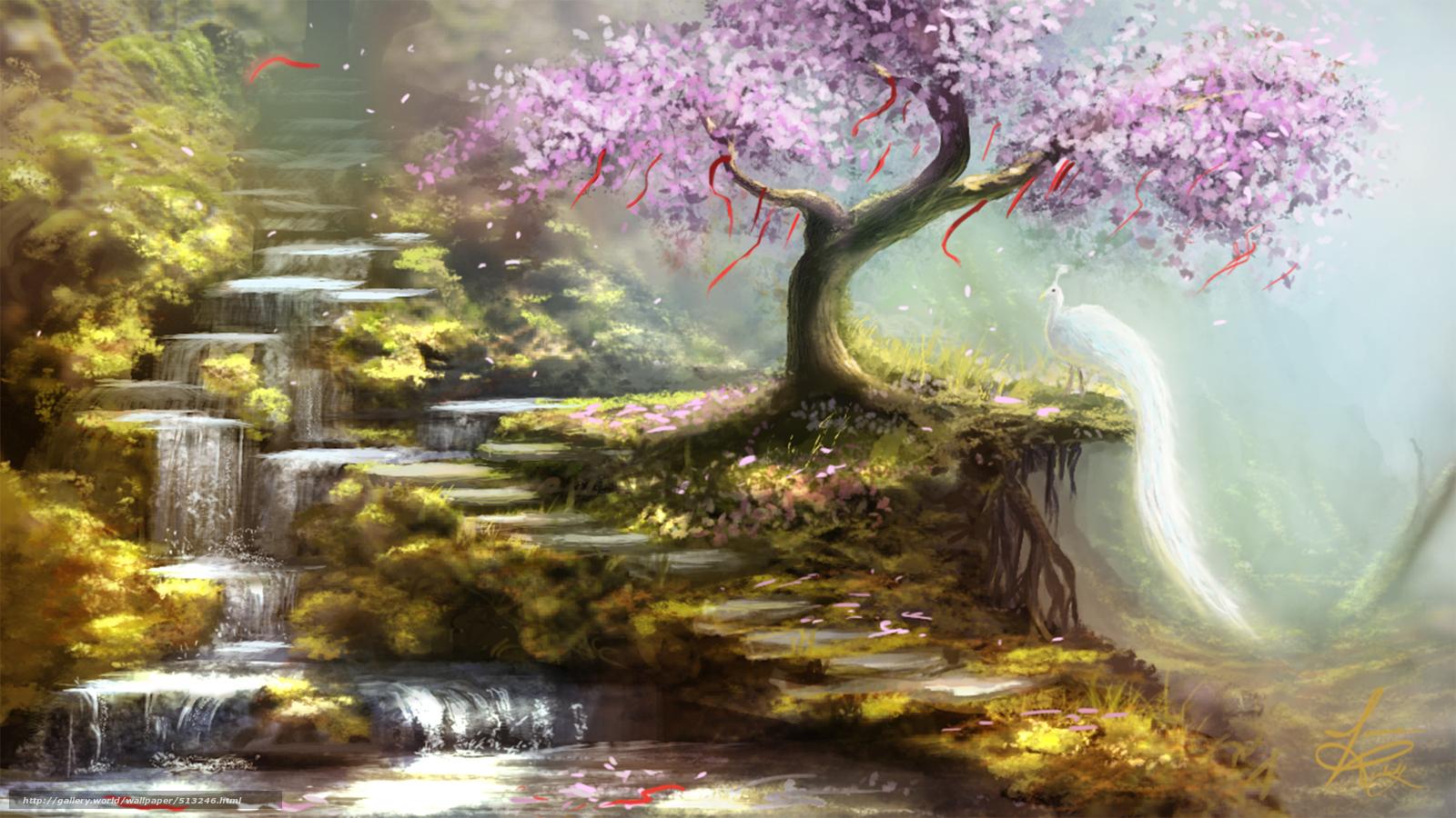 дойки красивые картины с деревьями объемы зрелой