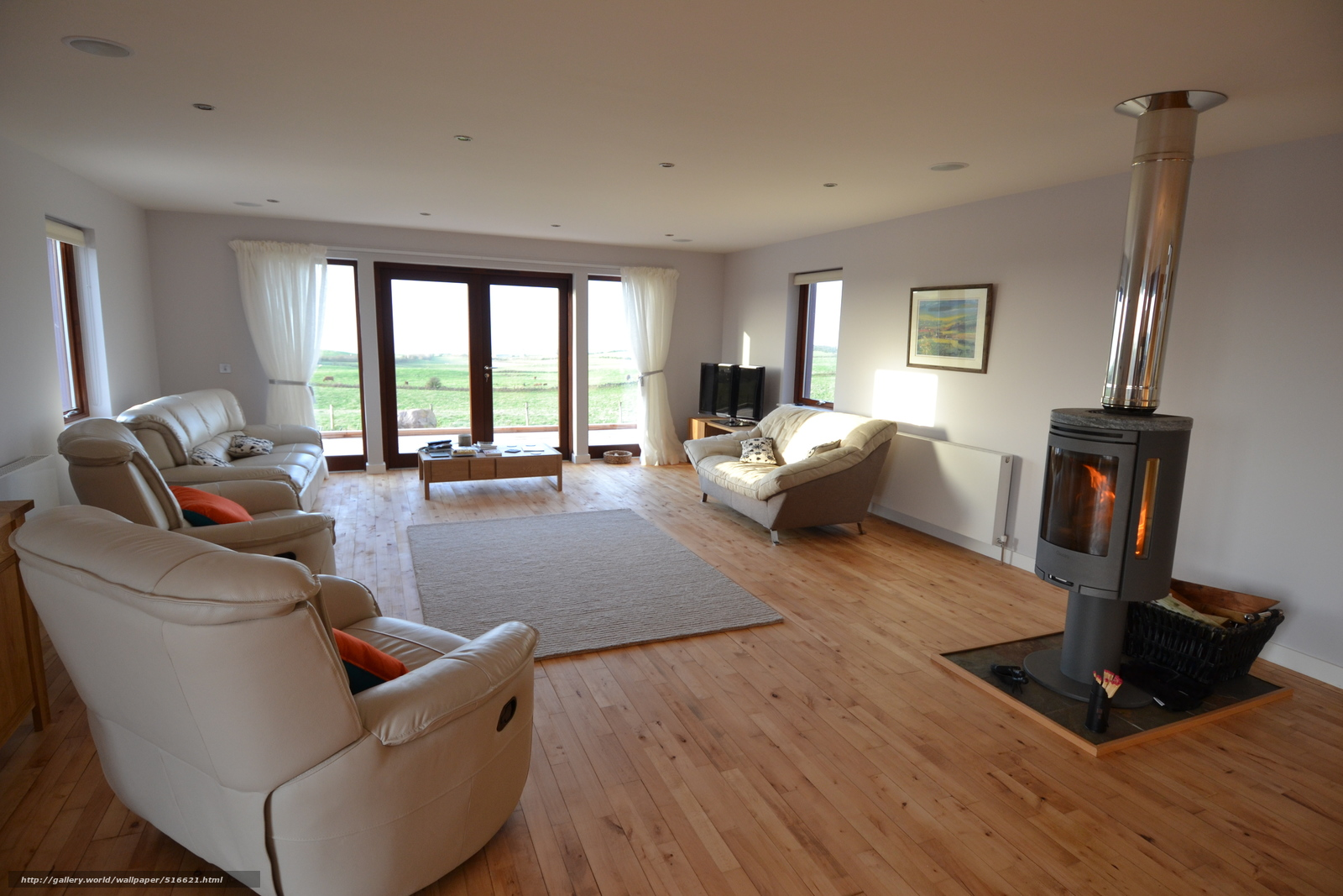 villa wohnzimmer:villa wohnzimmer : Tapete Design, Villa, Wohnzimmer, Innen , Stil