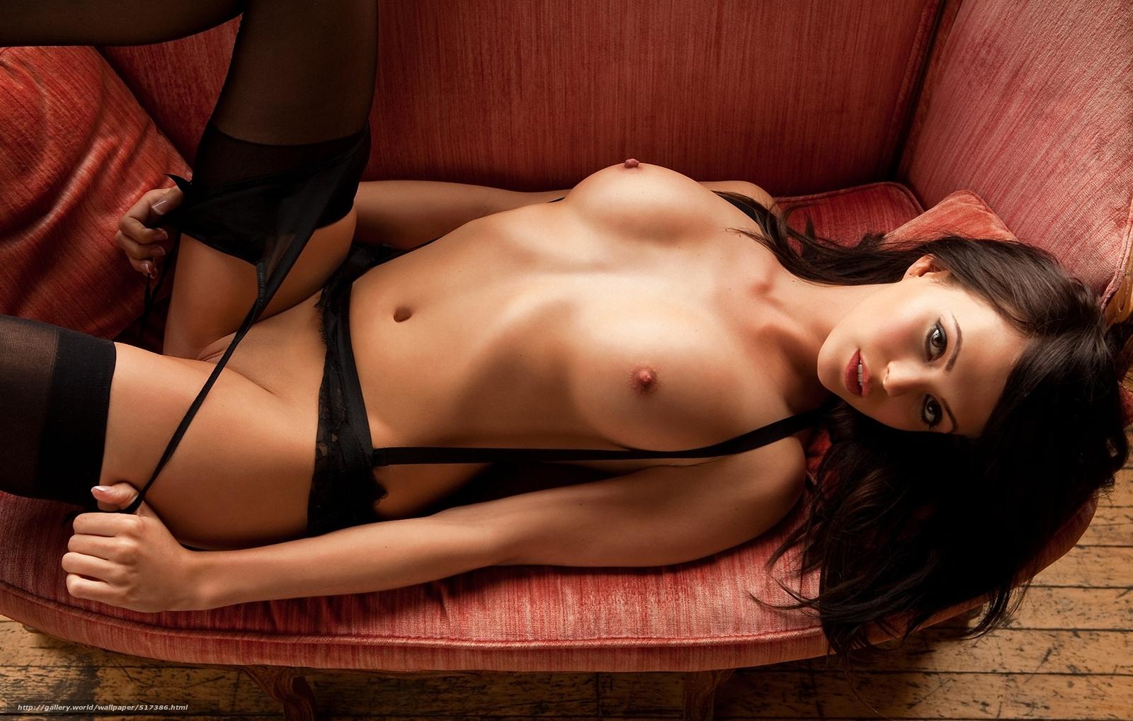 Фотки красивых голых девушек в чулках 17 фотография
