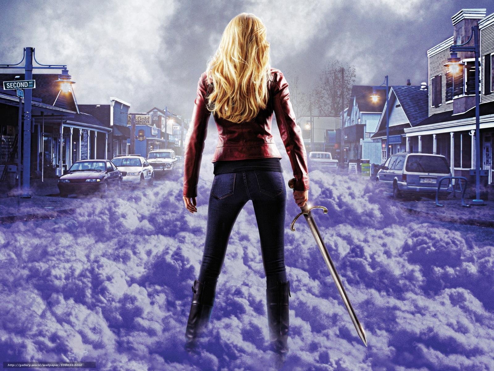 Скачать на телефон обои фото картинку на тему Jennifer Marie Morrison, Once Upon a Time, Emma Swan, разширение 2330x1747