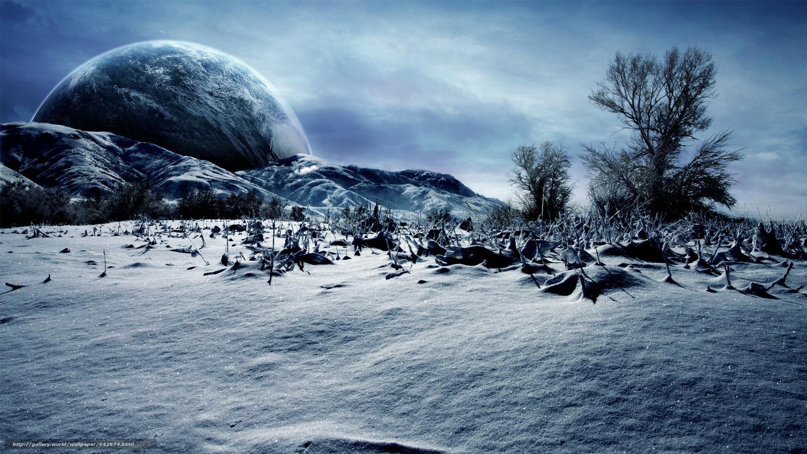 Скачать на телефон обои фото картинку на тему зима, планета, природа, разширение 1920x1080
