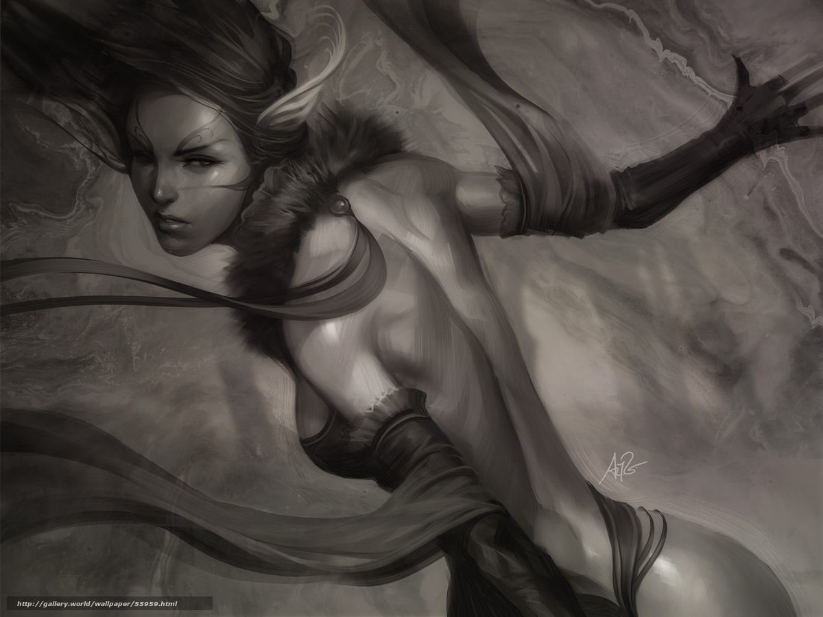 Nude babe elf warrior cgi erotic scene