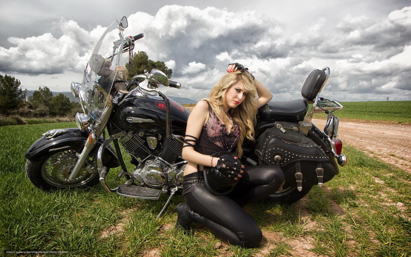 Фото женщин байкерш 7 фотография