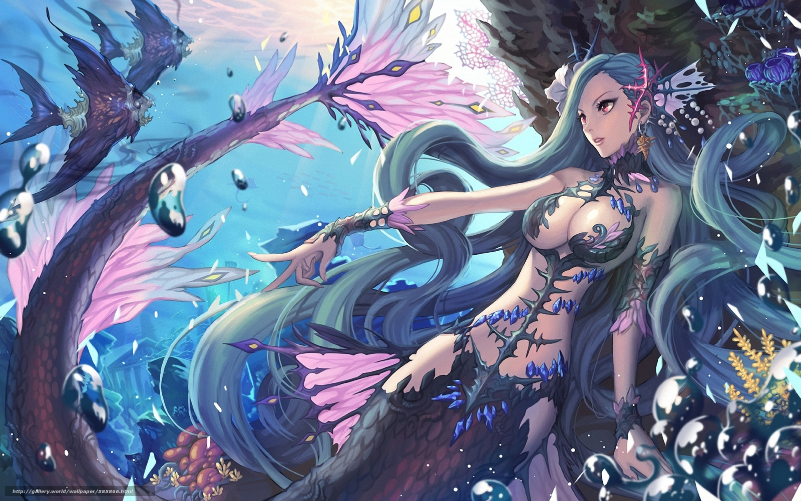 Neud anime mermaid pictures xxx pic