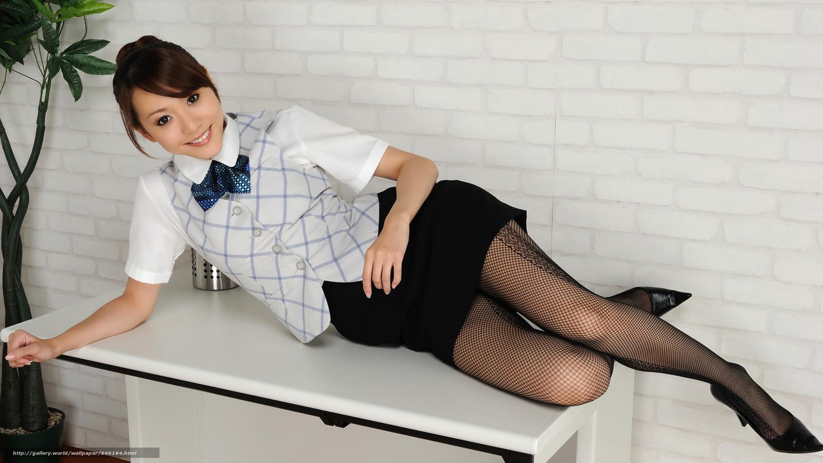 Фото японка в мини юбке 10 фотография