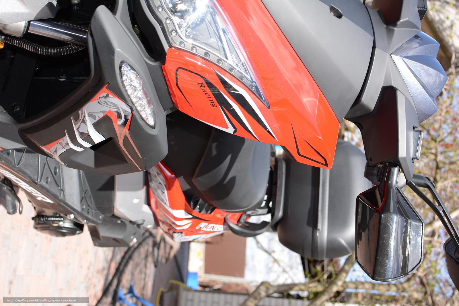 Скачать на телефон обои фото картинку на тему VIPER FLEX VP150M, скутер, мотороллер, разширение 6000x4000