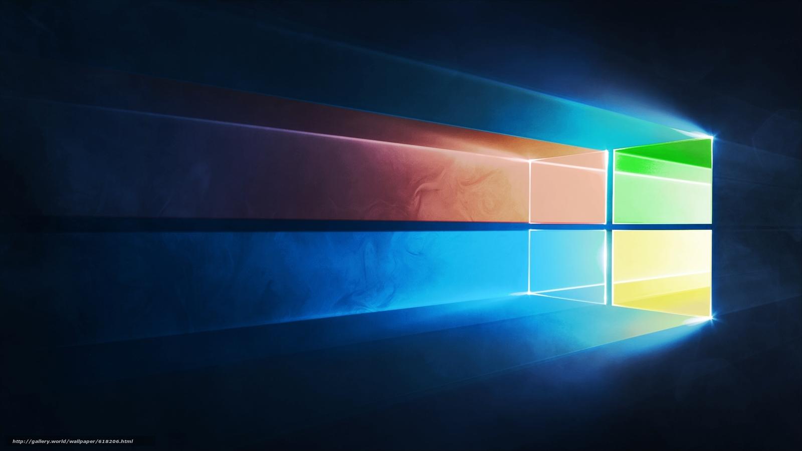 Скачать на телефон обои фото картинку на тему windows 10, wallpaper, обои, разширение 1920x1080