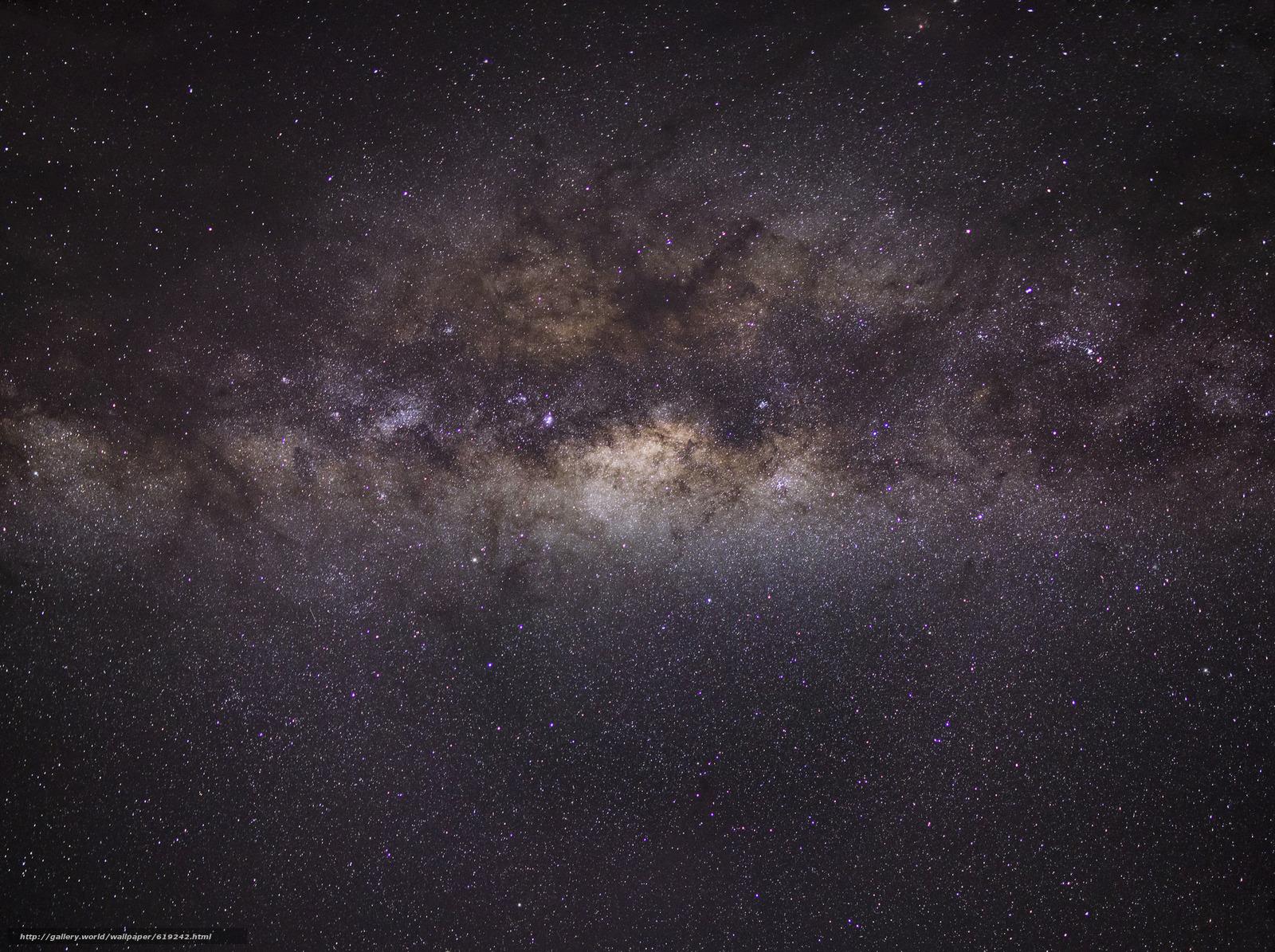 Скачать на телефон обои фото картинку на тему Ночь, небо, Млечный Путь космос, звеёды, разширение 2048x1530
