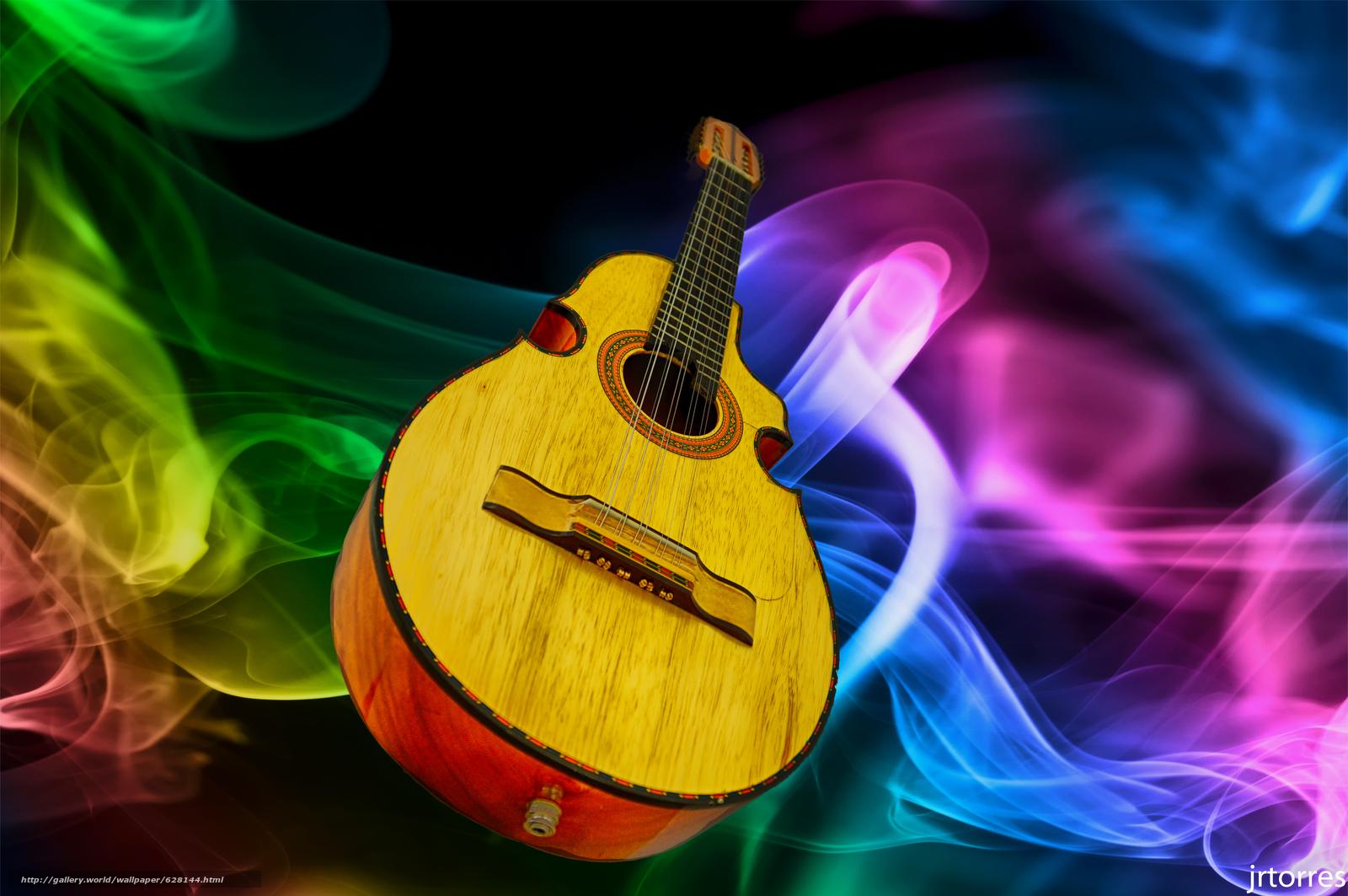 Скачать на телефон обои фото картинку на тему музыкальный, инструмент, гитара, разширение 6010x3993