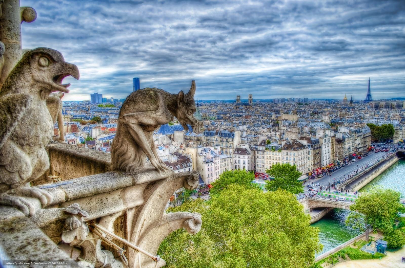 Скачать на телефон обои фото картинку на тему Paris, France, париж, франция, разширение 4928x3264