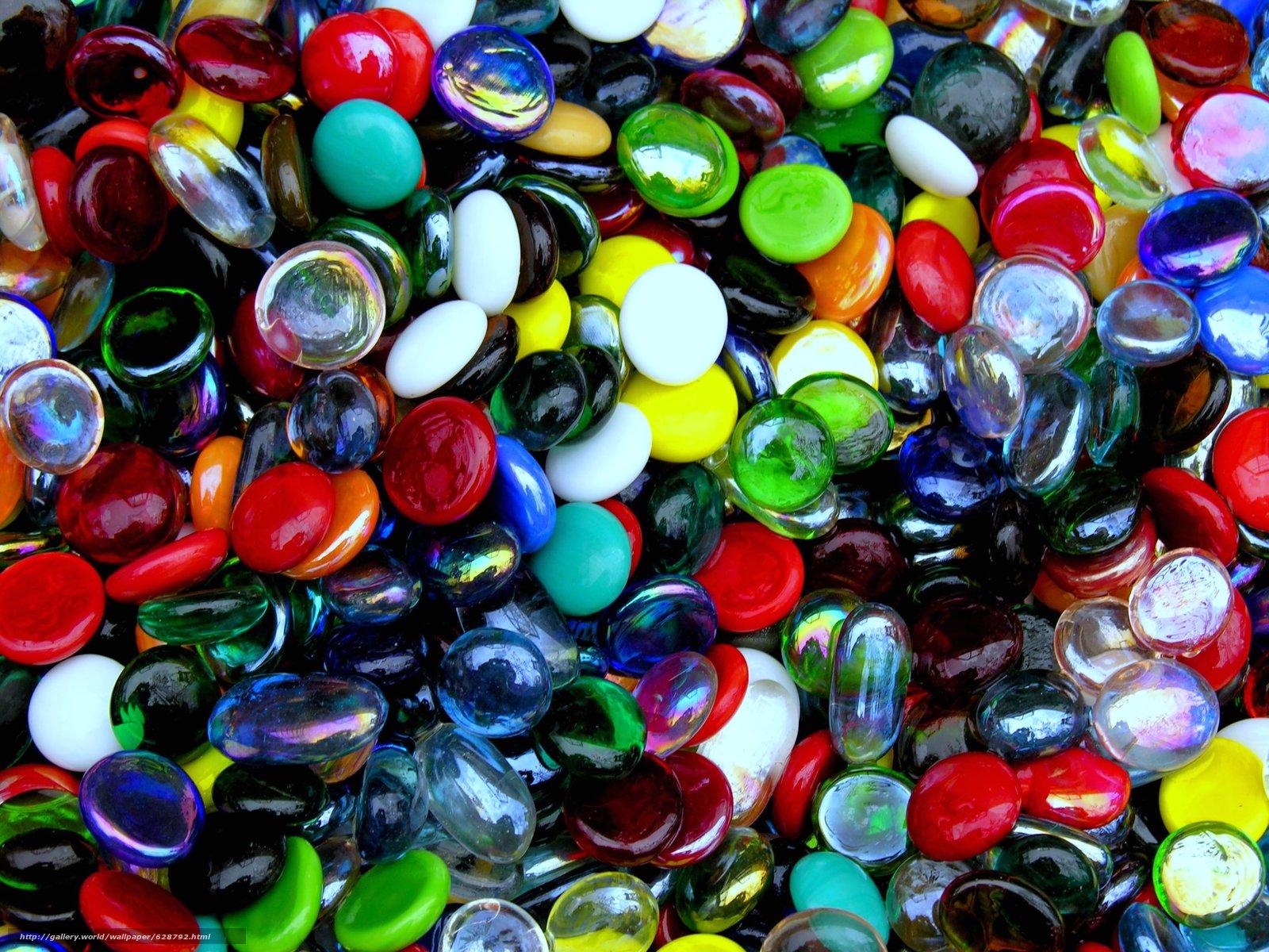 текстура, разноцветные, Стеклянные Камни
