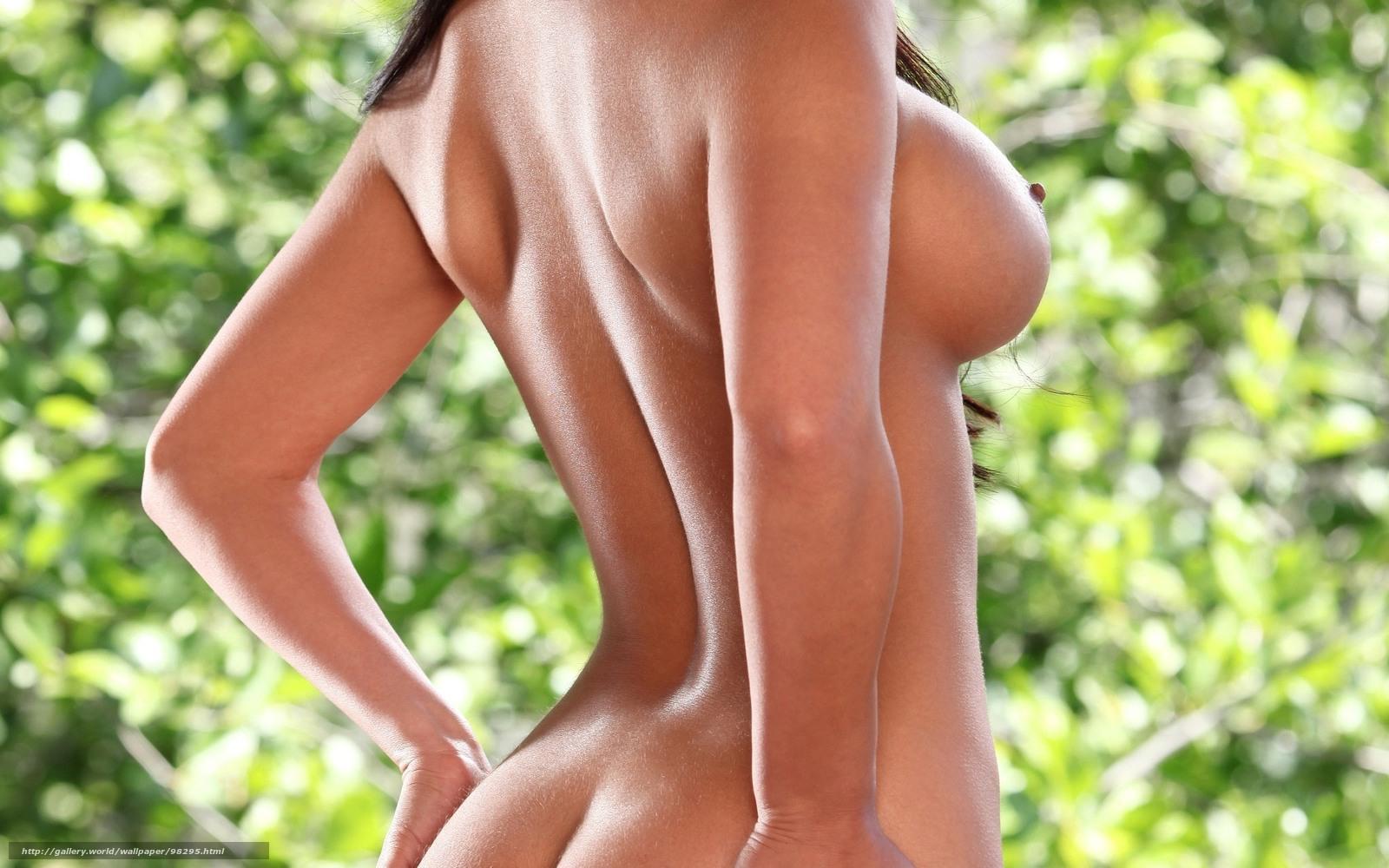 Красивые попки и грудь