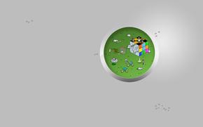 пиксель, арт, графика, ученые, кролик, лаборатория, фантастика