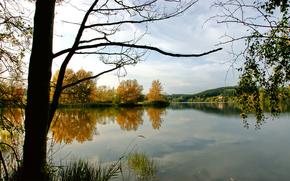 paisagens, foto, natureza, rvores, lago, Lago, gua, Rio, rio, rvore
