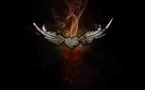 corazn, alas, fumar