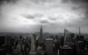 New York, Manhattan, Skyscrapers, reinforced concrete, jungle
