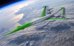 космос, орбита, корабль, прототип