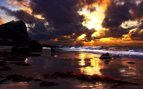 океан, небо