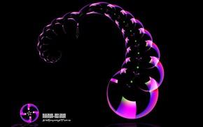 пузыри, узор, минимализм
