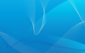 linea, Arco, blu
