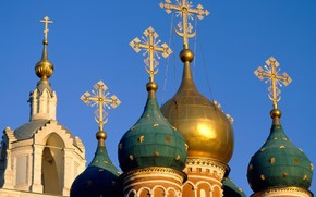 Moskwa, kopua, niebo