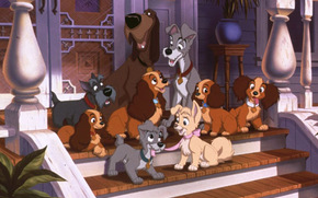 Lady and the Tramp, Lady and the Tramp, film, movies
