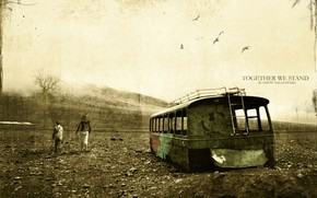 fortitude, attrition, age, rusty bus
