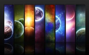 Planeta, Espacio, Abstraccin
