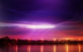 Color, luces, puente