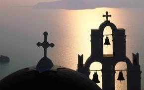 campanile, Grecia, isola