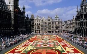 Belgium, Brussels, area