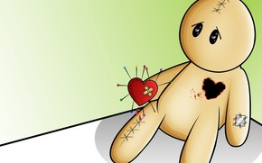 heart, love, Needles