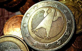 монеты, евро