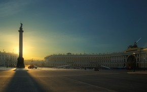 St. Petersburg, palace, area, Peter