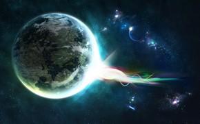 planeta, energa, Estrella