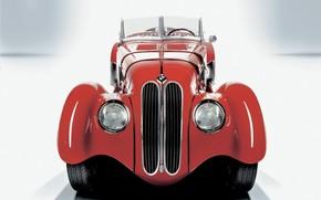 BMW, rouge