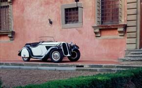 BMW, classique, maison